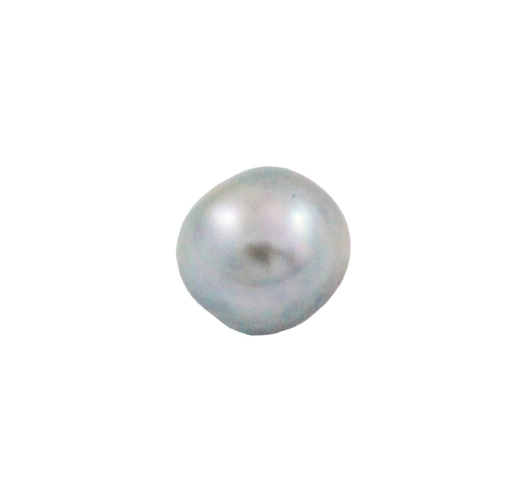 Tahitian pearl undrilled 0.95gr mm 10.45x8.69mm - Purchase only with custom order - Sarah Hughes - 5