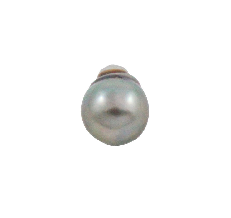 Tahitian pearl undrilled 0.97gr mm 11.15x8.26mm - Purchase only with custom order - Sarah Hughes - 3