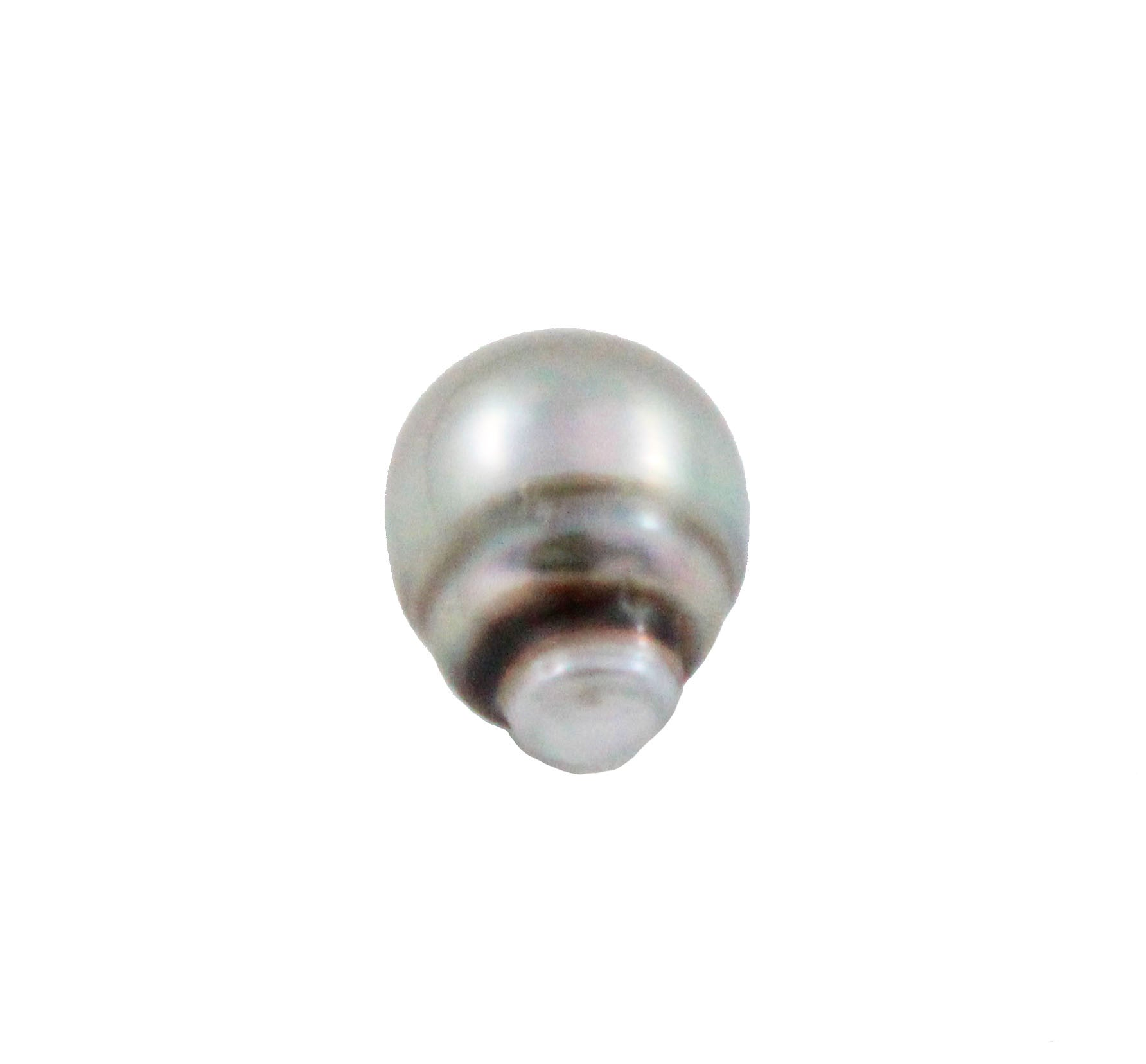 Tahitian pearl undrilled 0.97gr mm 11.15x8.26mm - Purchase only with custom order - Sarah Hughes - 5