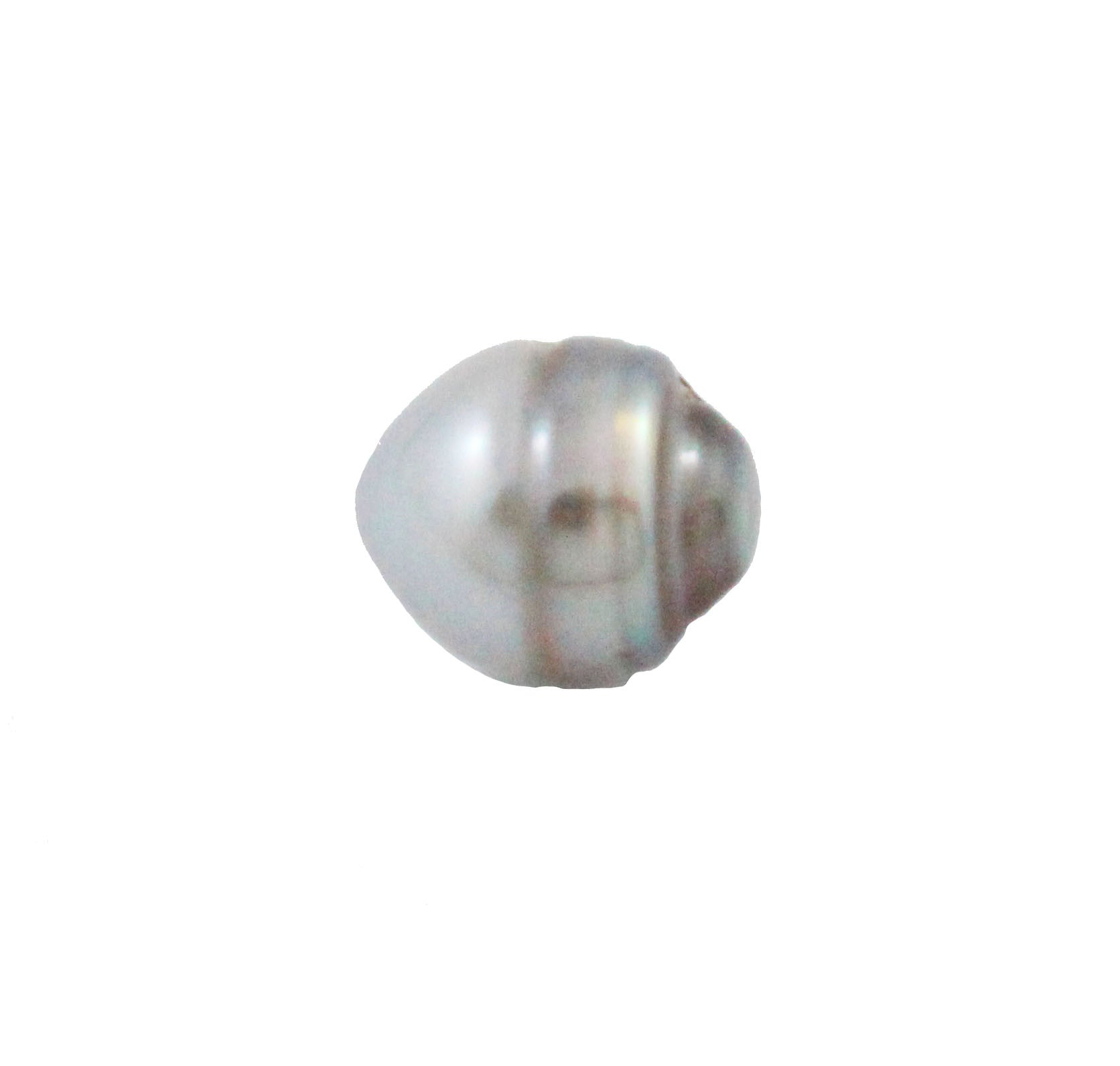 Tahitian pearl undrilled 0.98gr mm 10.14x8.34mm - Purchase only with custom order - Sarah Hughes - 2