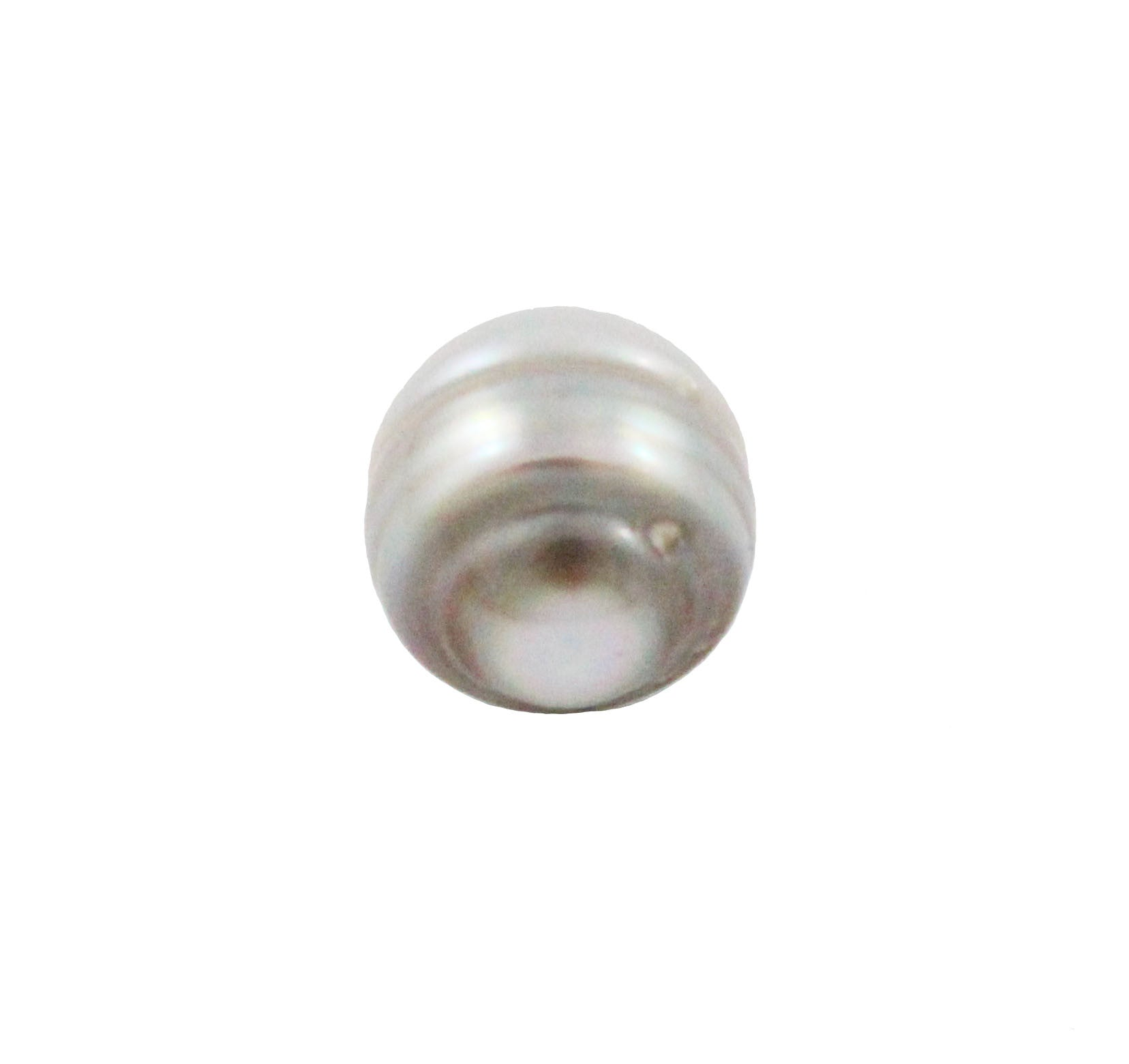 Tahitian pearl undrilled 0.98gr mm 10.14x8.34mm - Purchase only with custom order - Sarah Hughes - 5