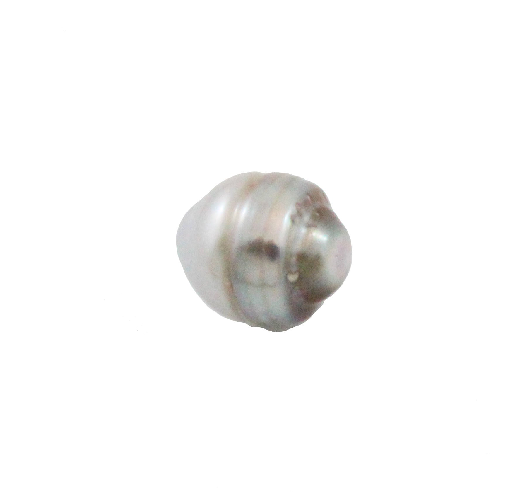 Tahitian pearl undrilled 0.98gr mm 10.14x8.34mm - Purchase only with custom order - Sarah Hughes - 6