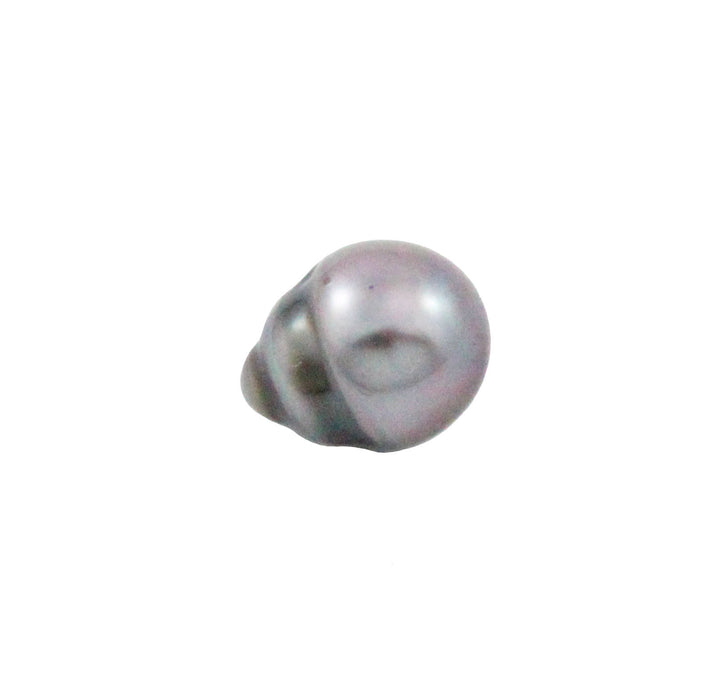 Tahitian pearl undrilled 1.00gr mm 10.8x8.3mm - Purchase only with custom order - Sarah Hughes - 5