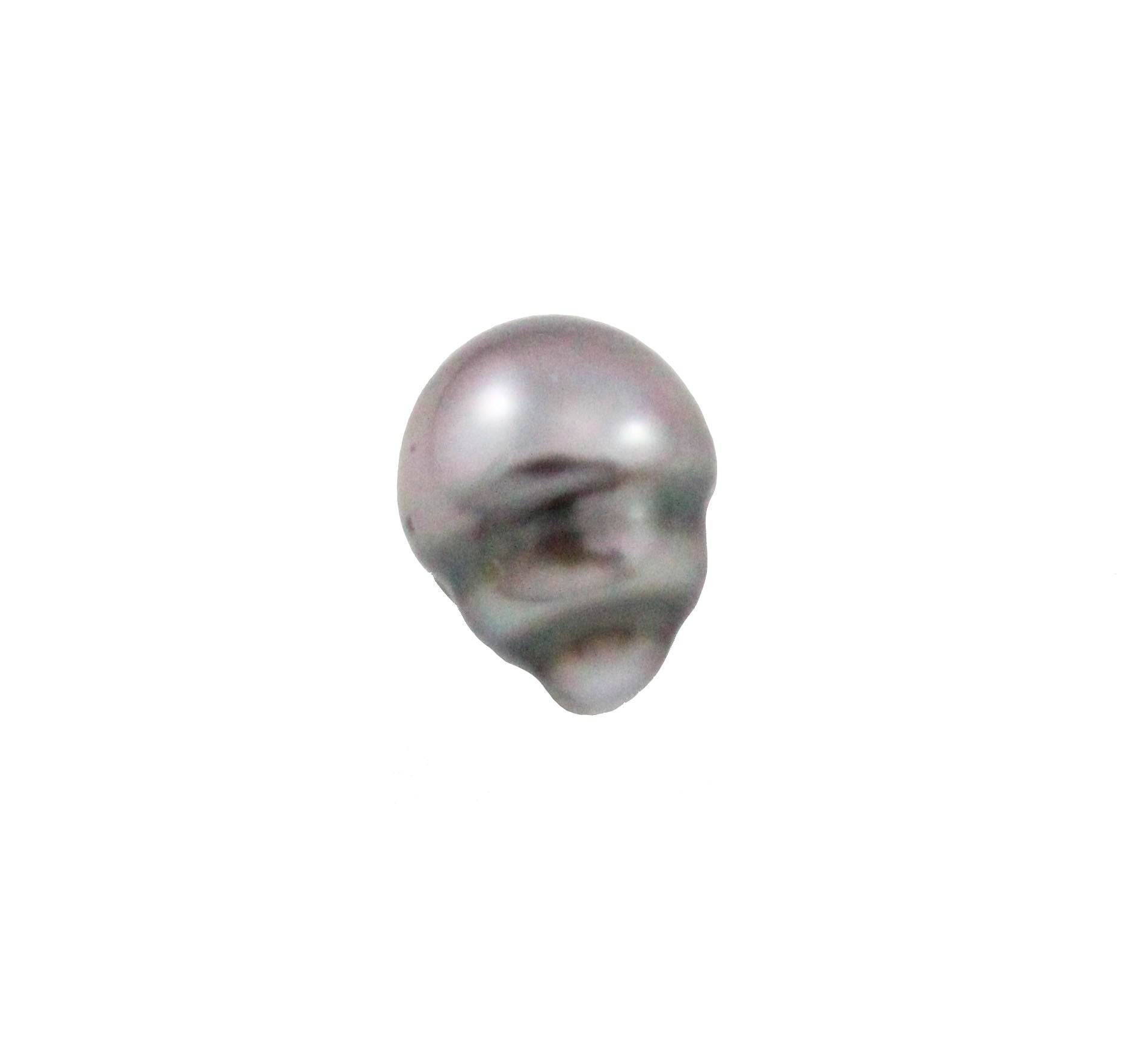 Tahitian pearl undrilled 1.00gr mm 10.8x8.3mm - Purchase only with custom order - Sarah Hughes - 6