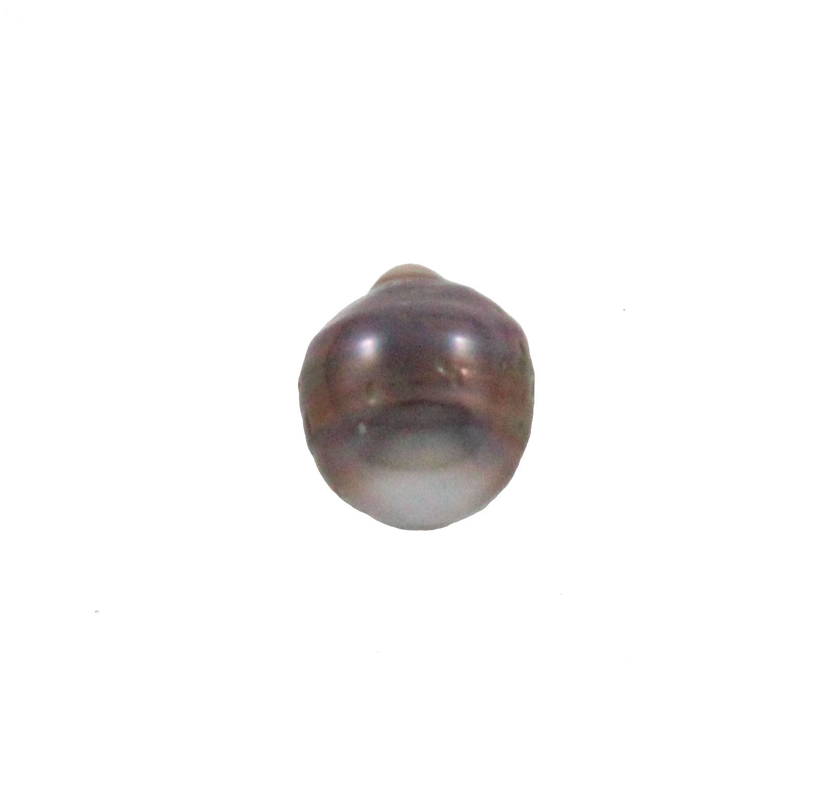 Tahitian pearl undrilled 1.04gr mm 10.48x9mm - Purchase only with custom order - Sarah Hughes - 5
