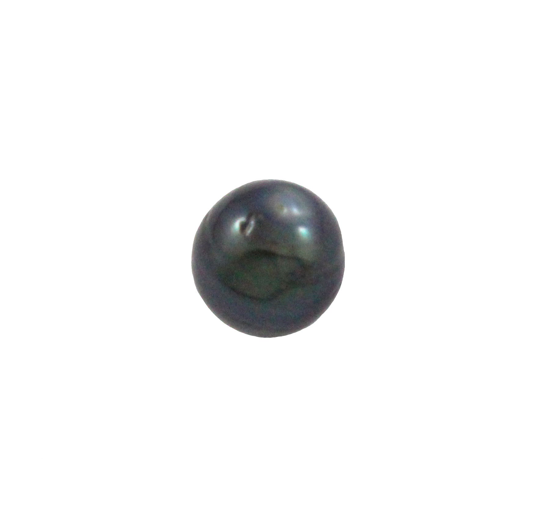 Tahitian pearl undrilled 1.05gr mm 9.18x8.85mm - Purchase only with custom order - Sarah Hughes - 5