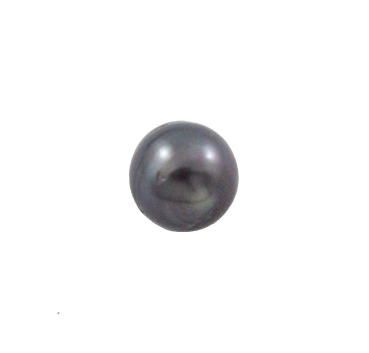 Tahitian pearl undrilled 1.05gr mm 9.18x8.85mm - Purchase only with custom order - Sarah Hughes - 6