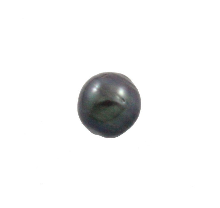Tahitian pearl undrilled 1.05gr mm 9.18x8.85mm - Purchase only with custom order - Sarah Hughes - 2