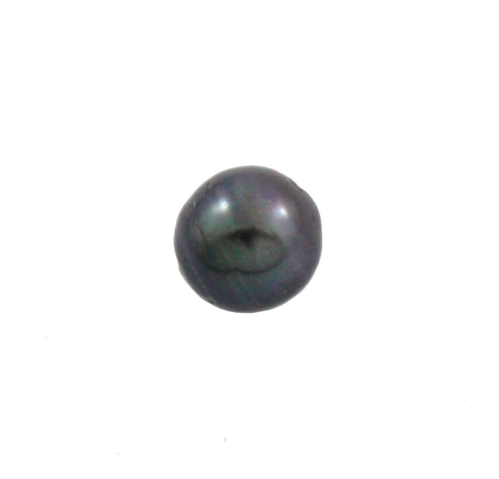Tahitian pearl undrilled 1.05gr mm 9.18x8.85mm - Purchase only with custom order - Sarah Hughes - 3