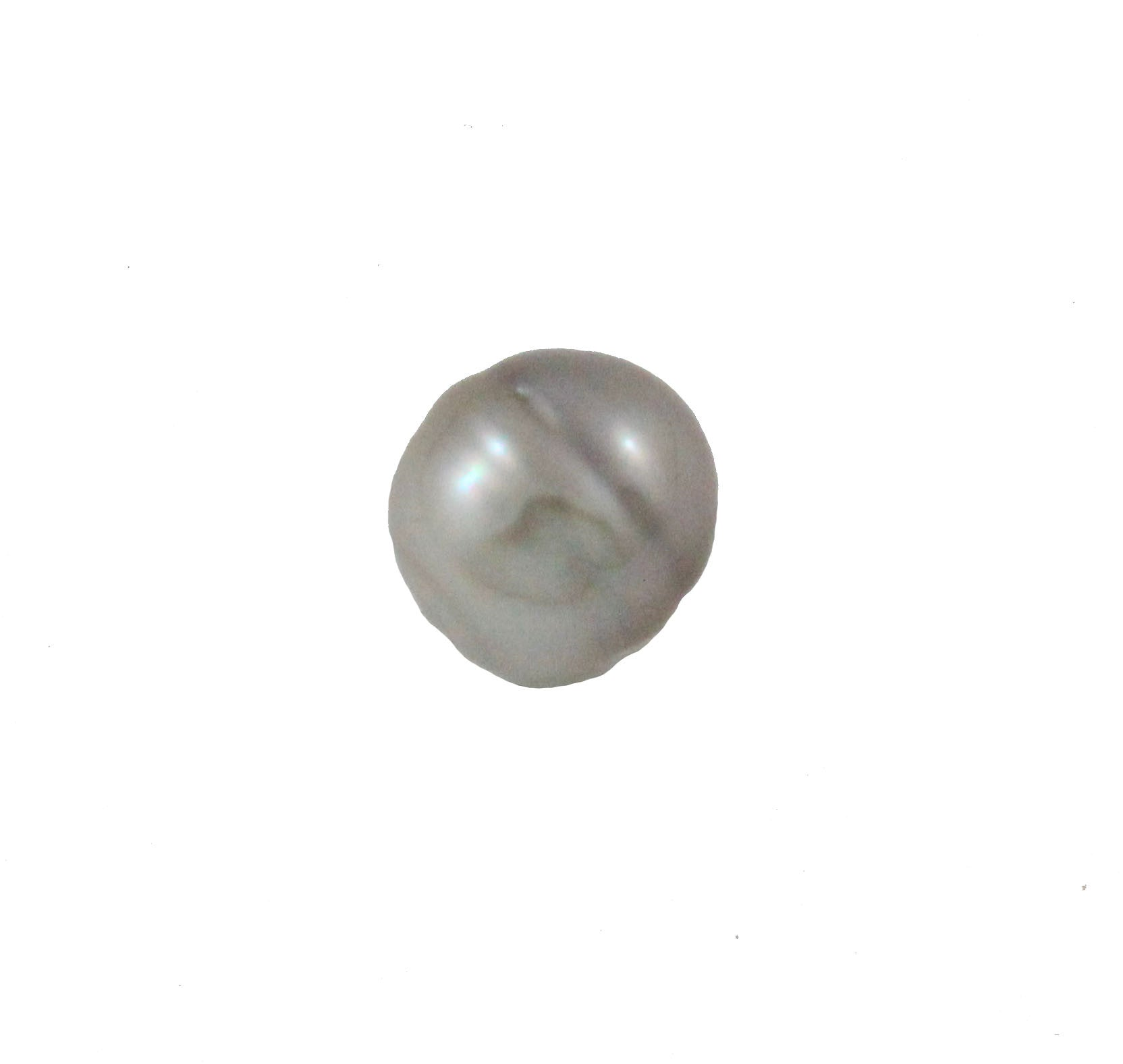 Tahitian pearl undrilled 1.05gr 9.5x9mm - Purchase only with custom order - Sarah Hughes - 4