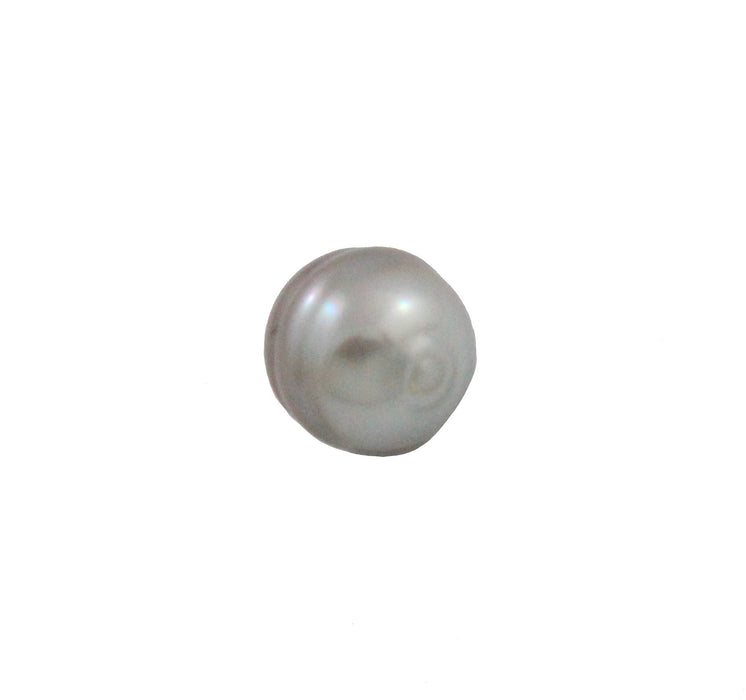 Tahitian pearl undrilled 1.05gr 9.5x9mm - Purchase only with custom order - Sarah Hughes - 3