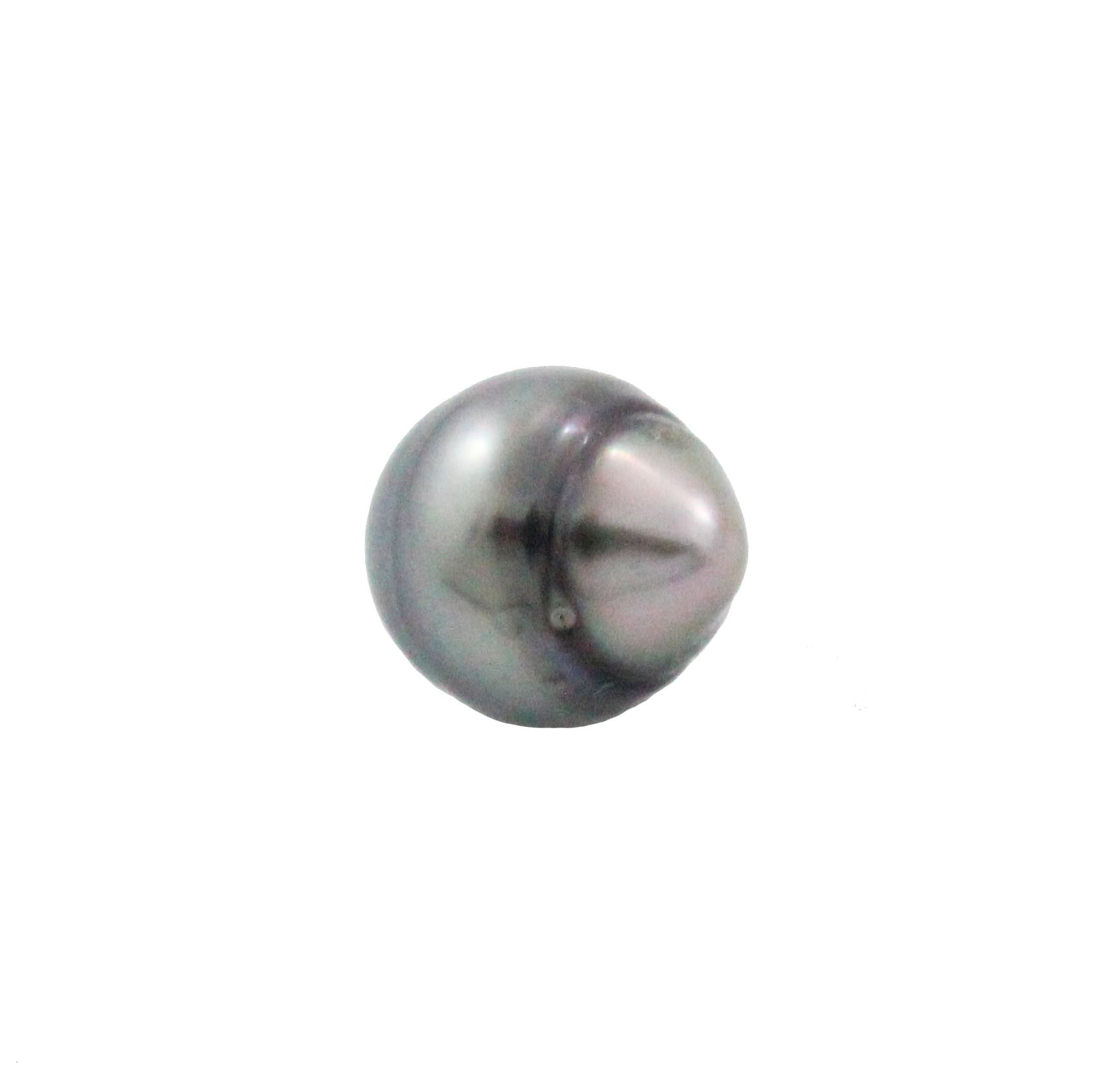Tahitian pearl undrilled 1.05gr mm 10x8.92mm - Purchase only with custom order - Sarah Hughes - 3