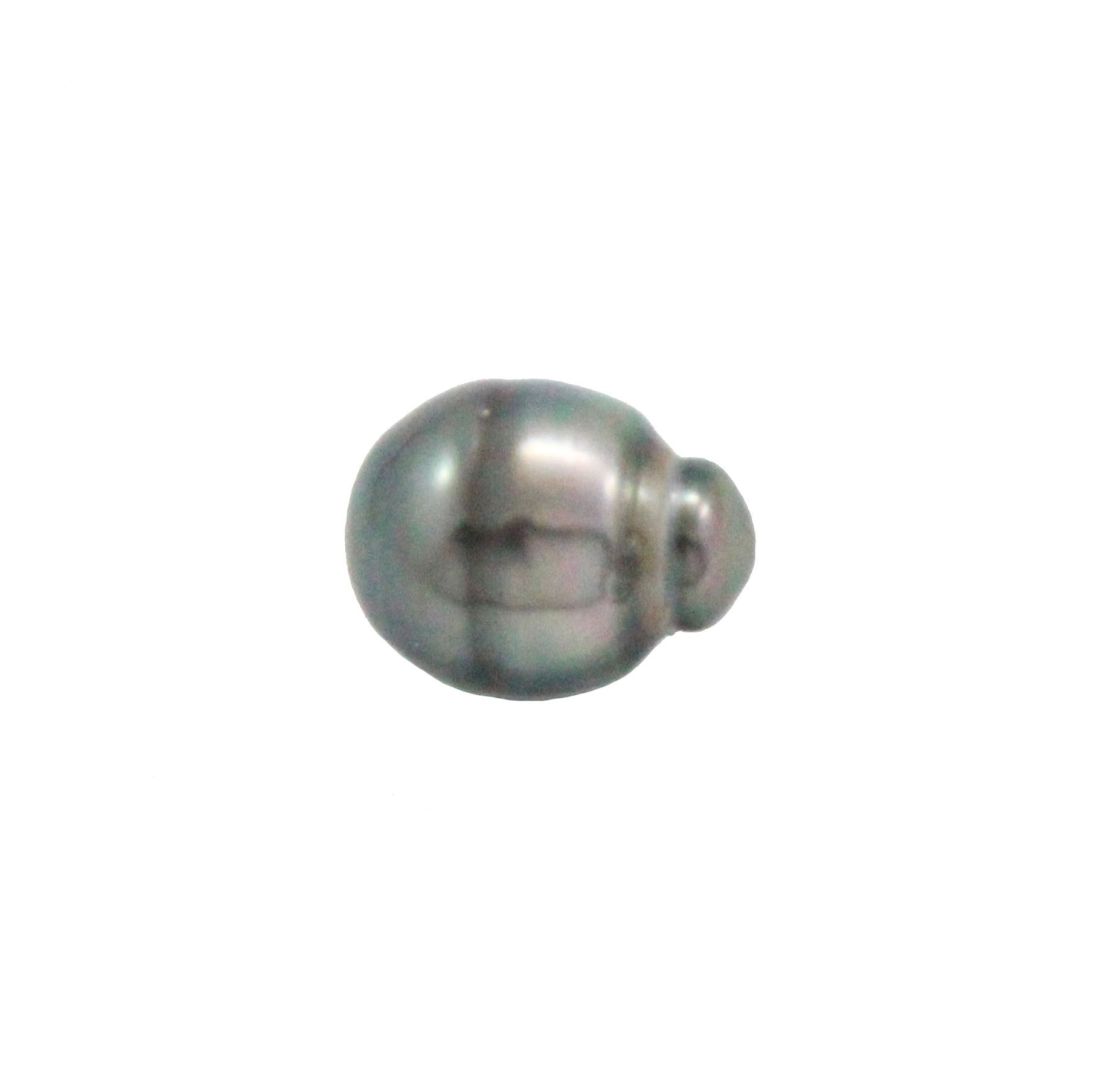 Tahitian pearl undrilled 1.05gr mm 11.12x8.6mm - Purchase only with custom order - Sarah Hughes - 6