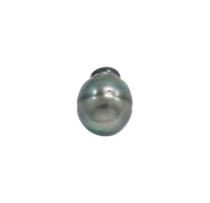 Tahitian pearl undrilled 1.05gr mm 11.12x8.6mm - Purchase only with custom order - Sarah Hughes - 7