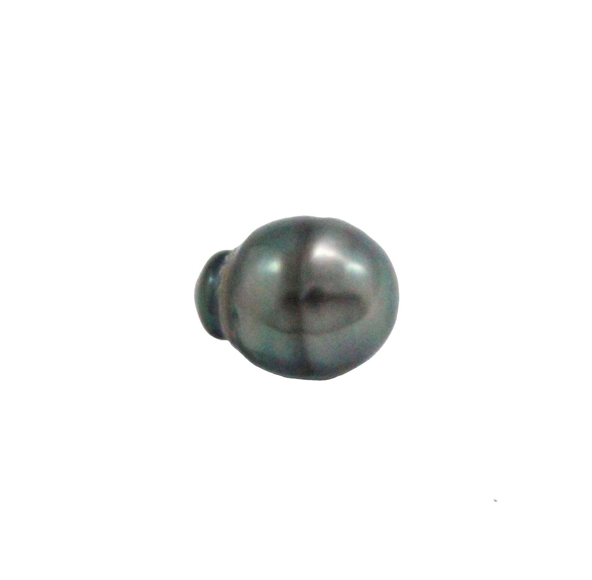 Tahitian pearl undrilled 1.05gr mm 11.12x8.6mm - Purchase only with custom order - Sarah Hughes - 2