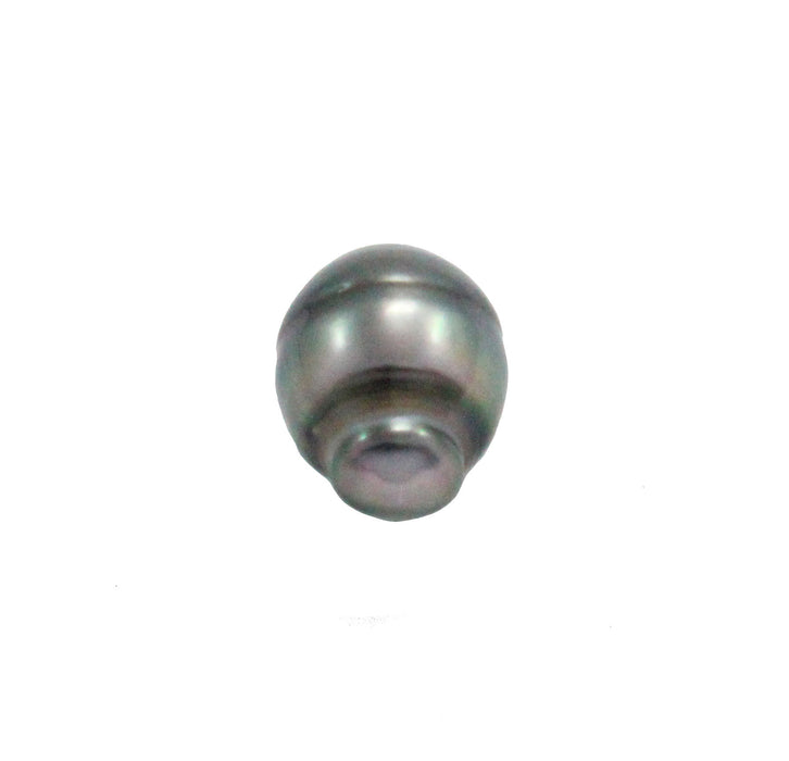 Tahitian pearl undrilled 1.05gr mm 11.12x8.6mm - Purchase only with custom order - Sarah Hughes - 3