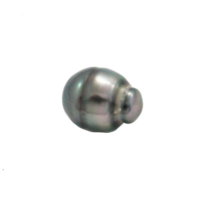 Tahitian pearl undrilled 1.05gr mm 11.12x8.6mm - Purchase only with custom order - Sarah Hughes - 4