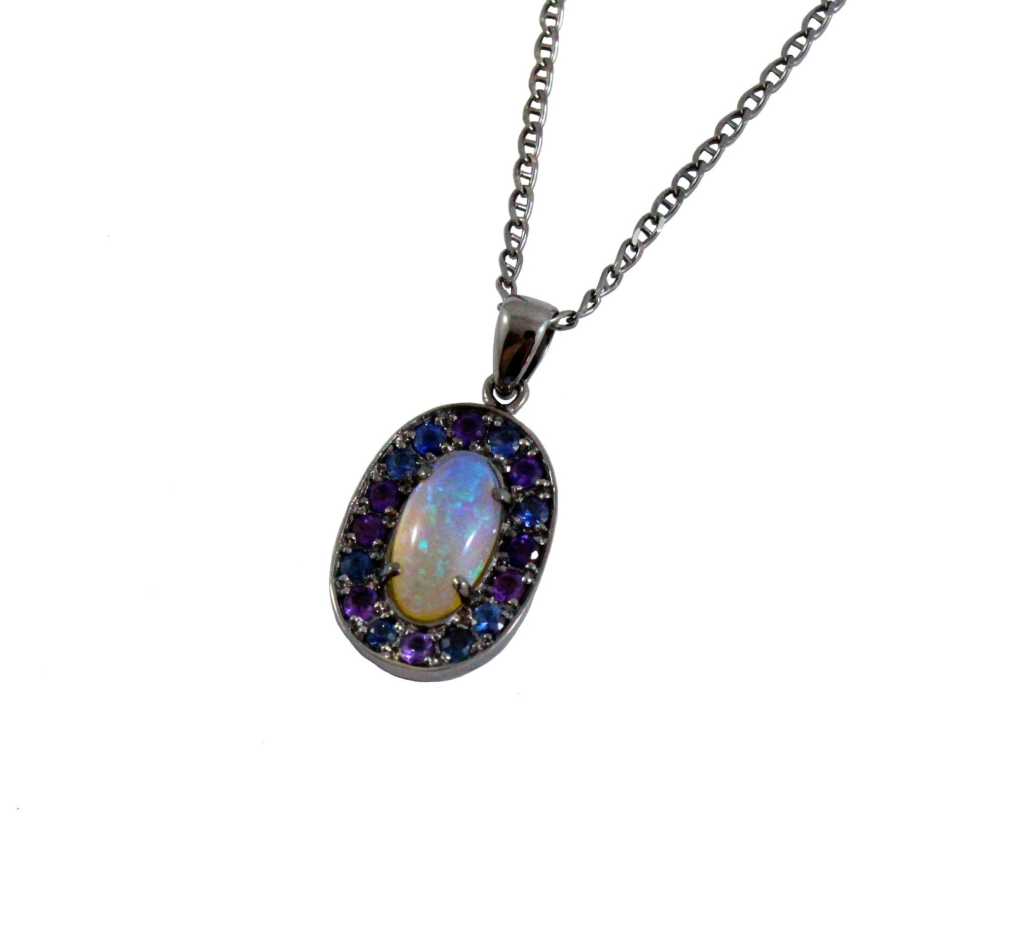 Australian jelly opal 1.70 carat loose gemstone - Design your own custom jewelry CLICK HERE - Sarah Hughes - 3