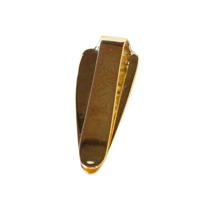 Australian black opal diamond solid 14k yellow gold tie clip - Ready to ship CLICK HERE - Sarah Hughes - 6