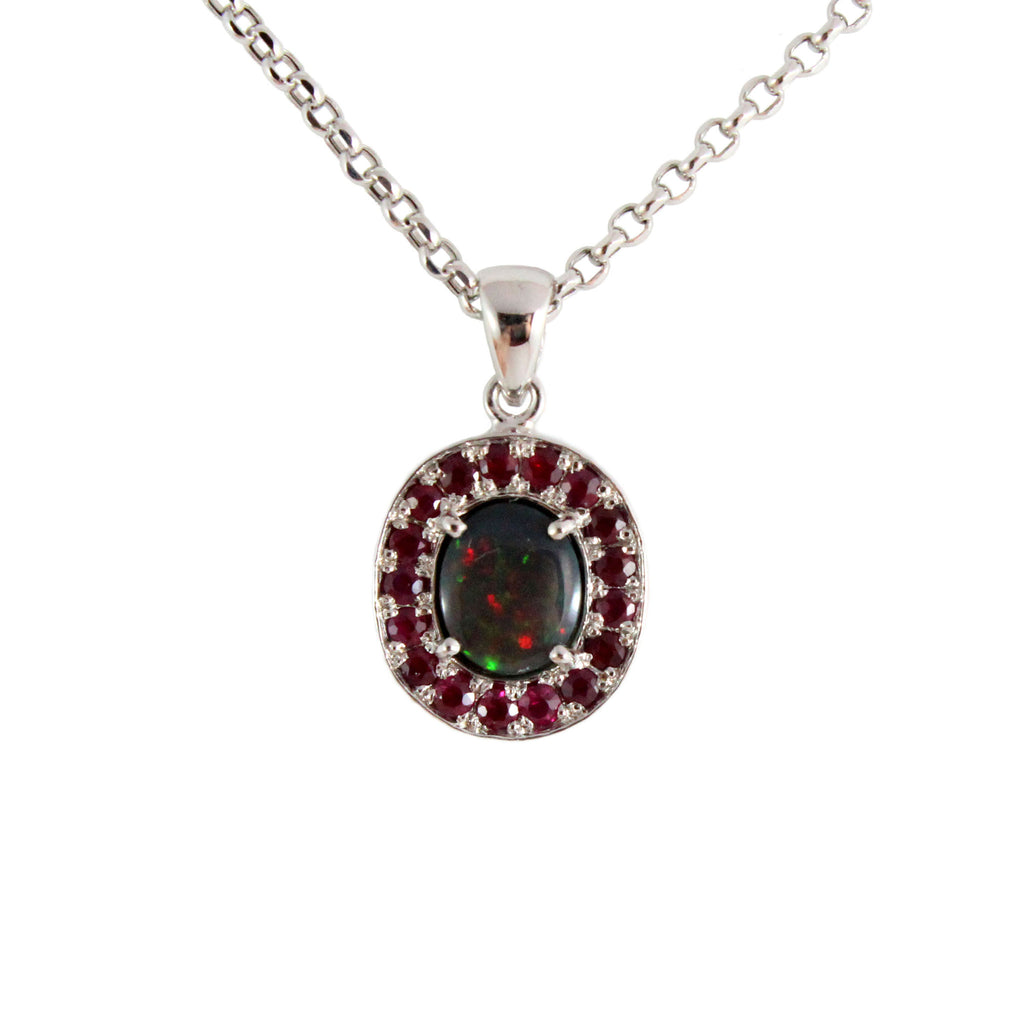 black pin opal ridge collection vintage unique from lightning necklace of edwardian diamond drop a extraordinary
