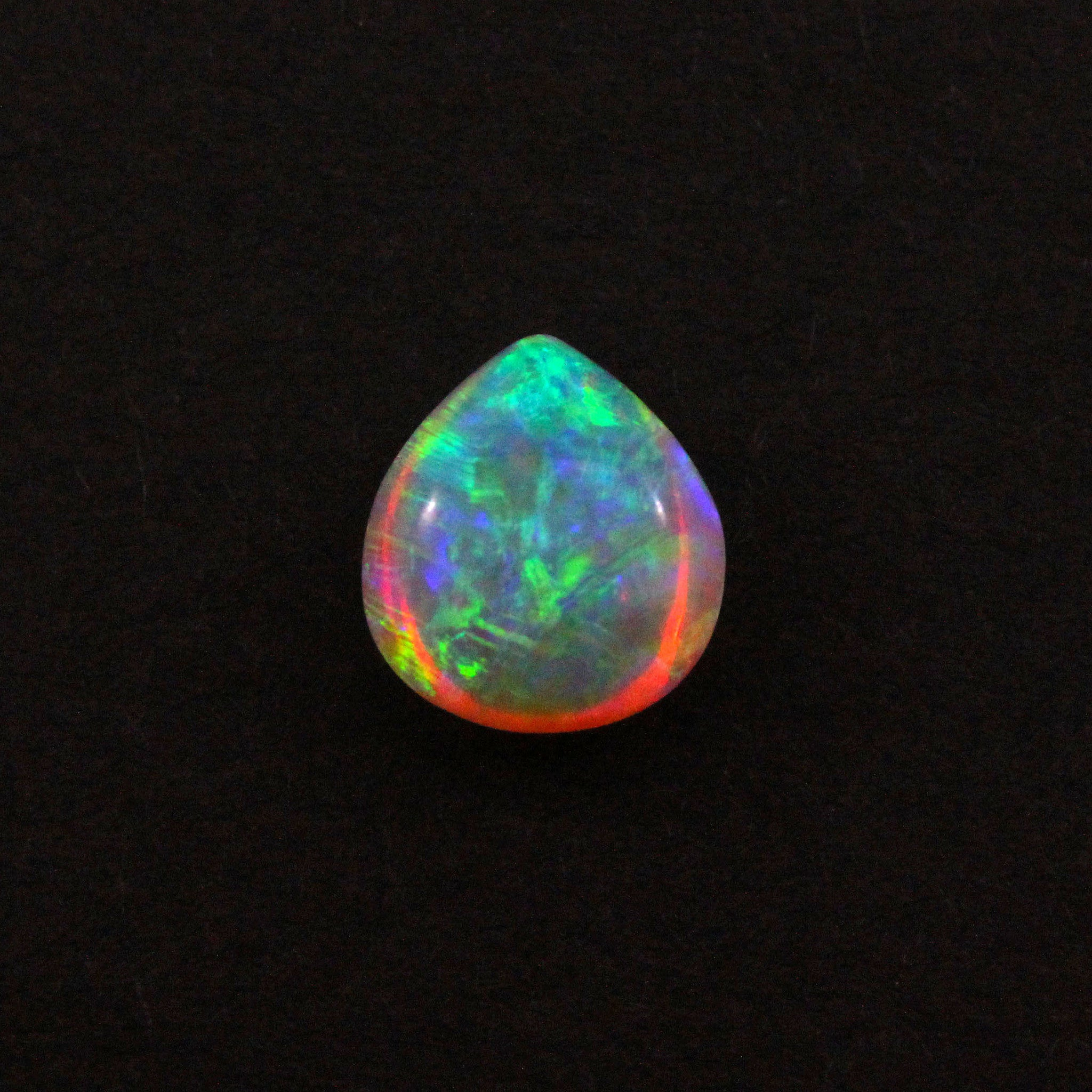 Australian jelly opal 3.36 carat loose gemstone - Double sided loose gemstone - Sarah Hughes - 1