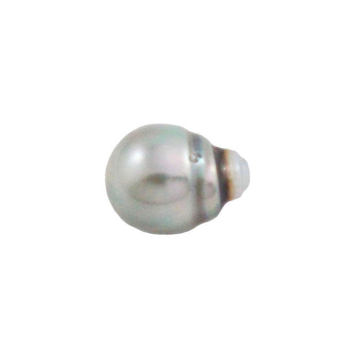 Tahitian pearl undrilled 0.97gr mm 11.15x8.26mm - Purchase only with custom order - Sarah Hughes - 1