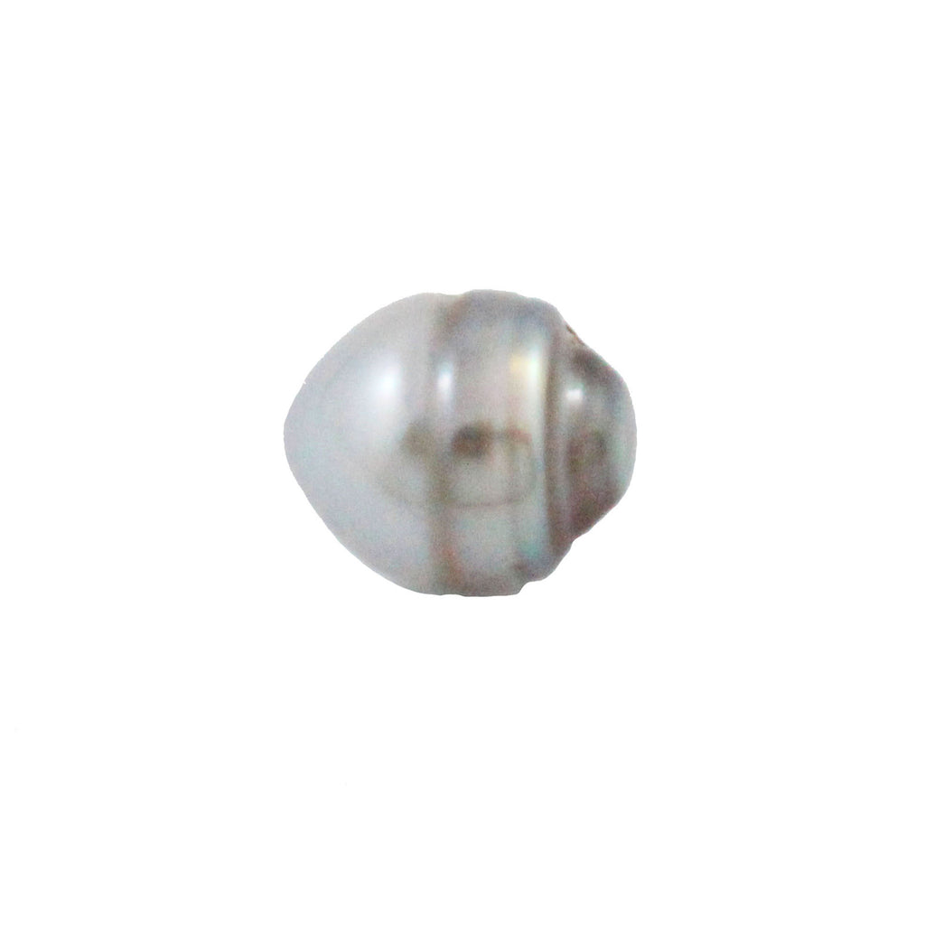 Tahitian pearl undrilled 0.98gr mm 10.14x8.34mm - Purchase only with custom order - Sarah Hughes - 1