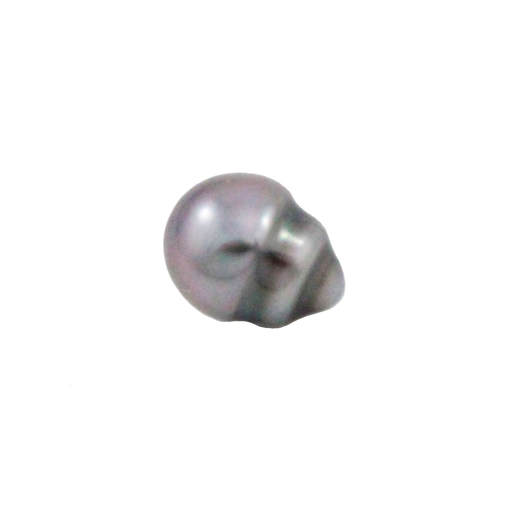 Tahitian pearl undrilled 1.00gr mm 10.8x8.3mm - Purchase only with custom order - Sarah Hughes - 1