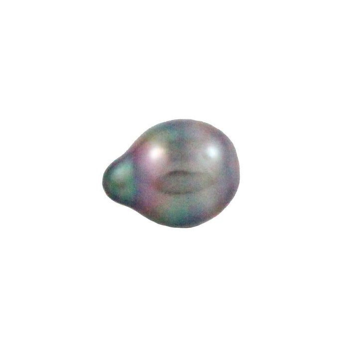 Tahitian pearl undrilled 0.85gr 10.4x8mm - Purchase only with custom order - Sarah Hughes - 1