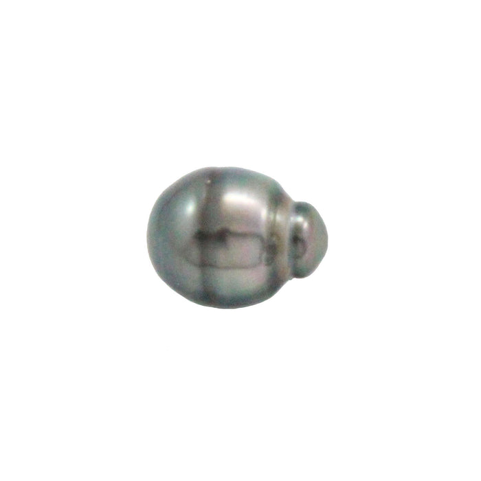 Tahitian pearl undrilled 1.05gr mm 11.12x8.6mm - Purchase only with custom order - Sarah Hughes - 1