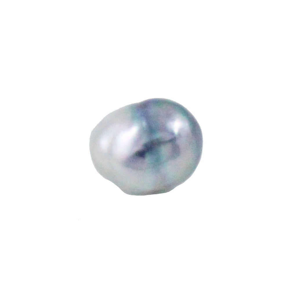 Tahitian pearl undrilled 0.89gr 10.22x8.26mm - Purchase only with custom order - Sarah Hughes - 1