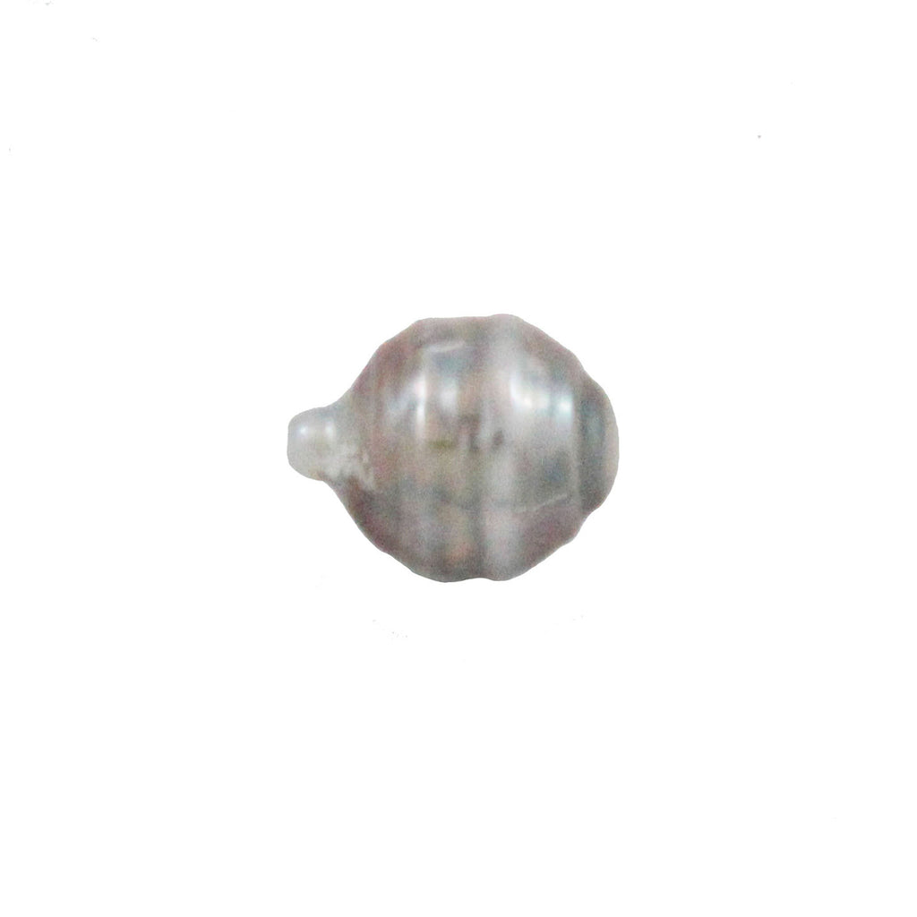 Tahitian pearl undrilled 0.94gr mm 11.11x8.64mm - Purchase only with custom order - Sarah Hughes - 1