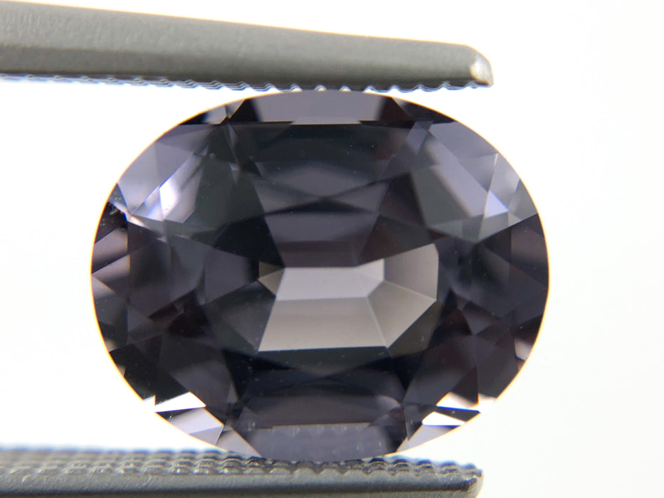 Silver Spinel oval cut 2.57 carat gemstone - Buy loose or Make your own custom jewelry