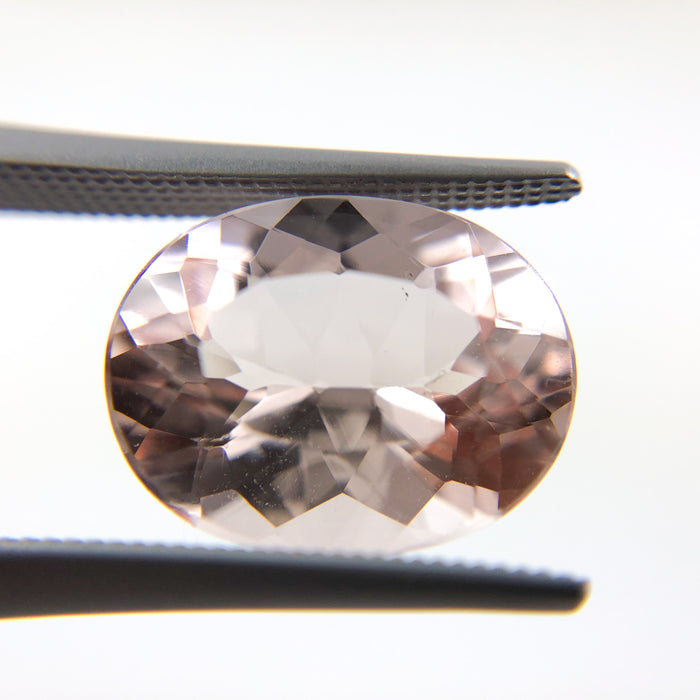 Morganite oval cut 4.55 carat loose gemstone - Buy loose or Make your own custom jewelry