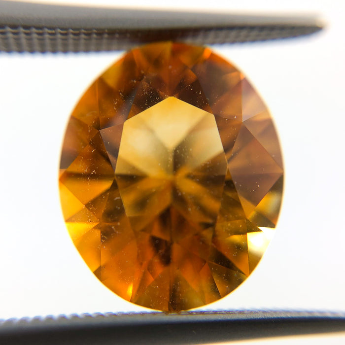 Citrine quartz oval cut 4.30 carats loose gemstone - Buy loose or make into your custom order