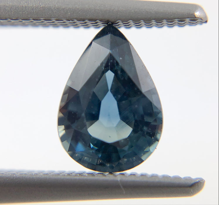 Australian Teal Sapphire pear cut 0.83 carats - Buy loose or Make your own custom jewelry design