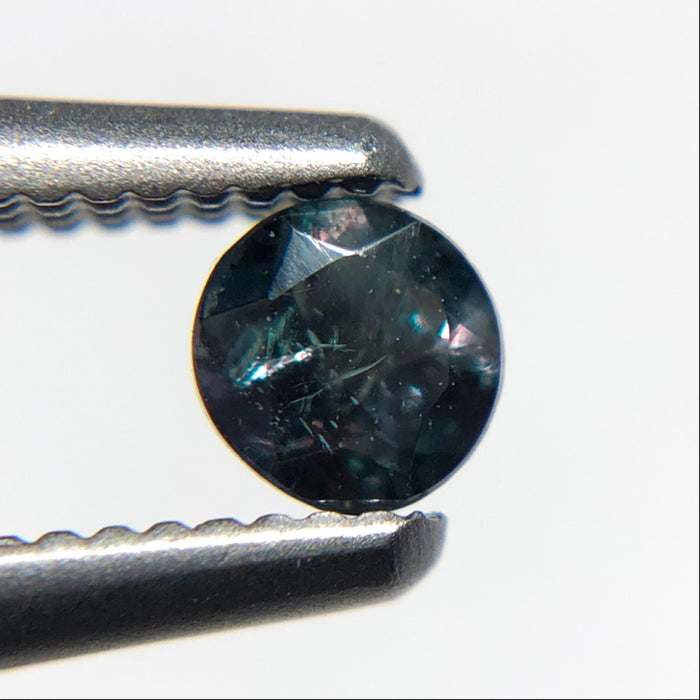 RESERVED for Natasha Martin-Carpenter - Natural colour change Alexanderite round brilliant cut 0.16 carat