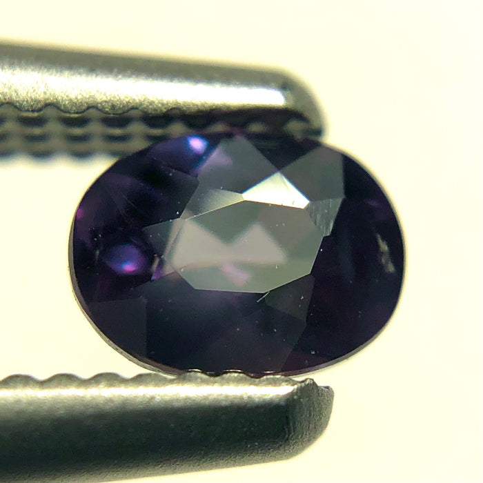 RESERVED for Debbie L - Natural colour change Alexanderite oval brilliant cut 0.25 carat - Buy only with custom order