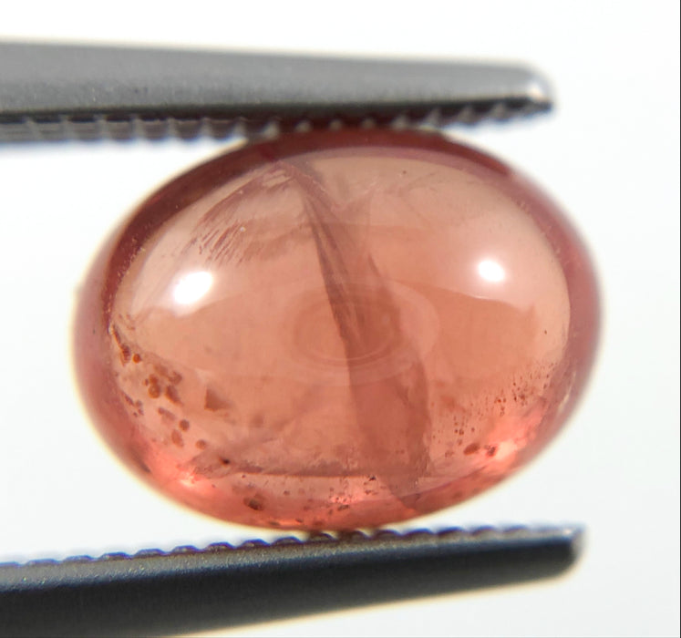 Pink Apricot Sapphire oval cut cabochon 2.05 carats - Make your own custom jewelry design
