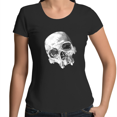 """The Eyes of Madness"" AS Colour Mali - Womens Scoop Neck T-Shirt"