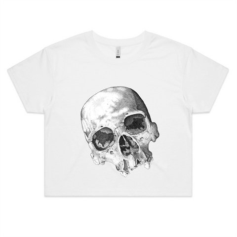"""The Eyes of Madness"" AS Colour - Womens Crop Tee"