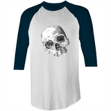 """The Eyes of Madness"" AS Colour Raglan - 3/4 Sleeve T-Shirt"