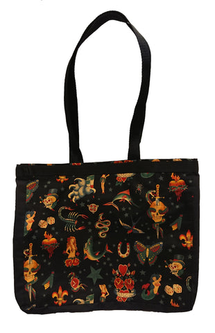 Tattoo Print Tote Bag