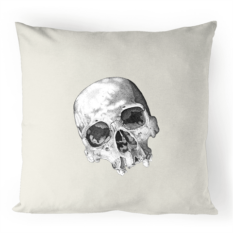 """The Eyes of Madness"" 100% Linen Cushion Cover"