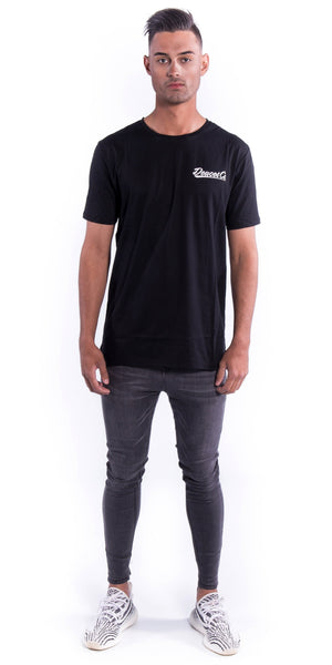 Pocket Logo Tee - Black