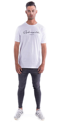 White Sydneyside Tee Front