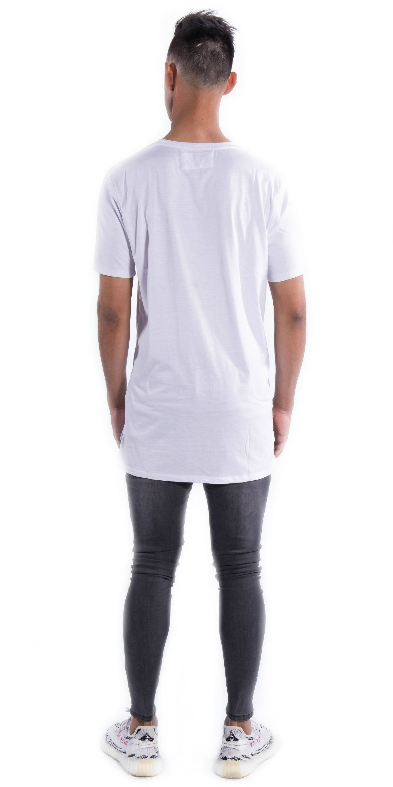 White Sydneyside Tee Back