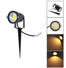 Load image into Gallery viewer, MSRonic 5W Spotlights LED Landscape Lights 12V 24V Waterproof Garden Path Warm 4 Pack