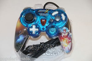 Mega Man X Gamecube Controller RARE! - Great Condition - w/Case - FREE Shipping - Popular for Sale  - 3