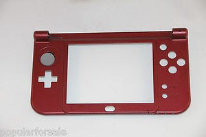 2015 Nintendo New 3DS XL Replacement Hinge Part Red Bottom Middle Shell/Housing - Popular for Sale  - 1